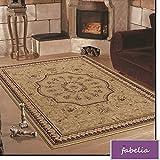 Orientalischer Teppich Marseille - Klassischer Teppich mit orientalisch-europäischen Designs (120 x 170 cm)