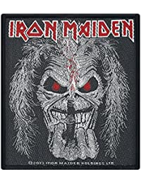 IRON MAIDEN EDDIE CANDLE PATCH 10X10CM