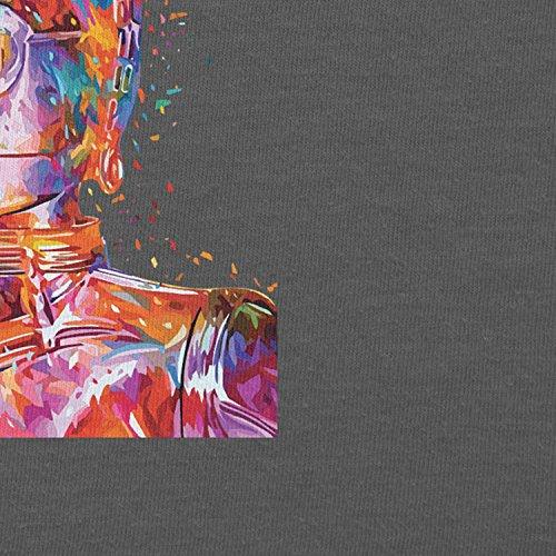 NERDO - Colour Droid - Herren T-Shirt Grau
