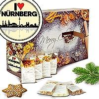I love Nürnberg | Adventskalender Knabbereien | Weihnachtskalender Damen Weihnachtskalender Knusper Weihnachtskalender Frauen Weihnachtskalender für Männer Weihnachtskalender für Frauen