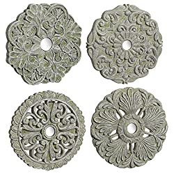 Wall Medallions Set of 4