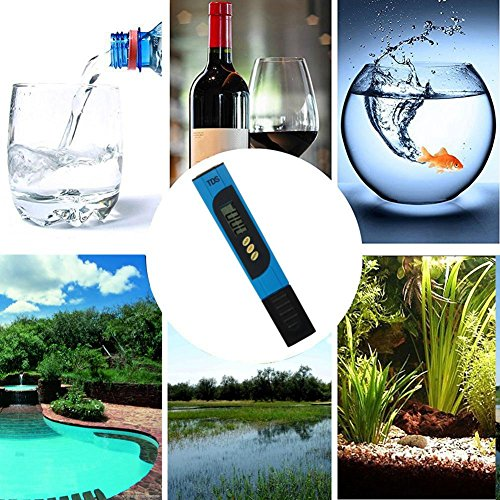 Starnearby Digital LCD Display TDS PH Meter Pen Aquarium Pool Wasser Qualität Tester