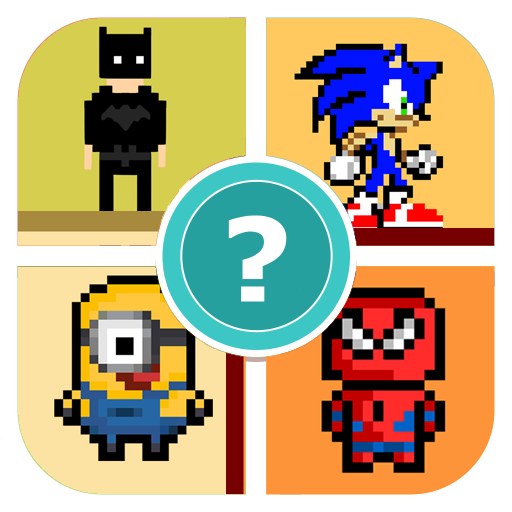 Name The Pixel Cartoon Character Quiz Game
