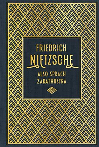 Also sprach Zarathustra: Leinen mit Goldprägung