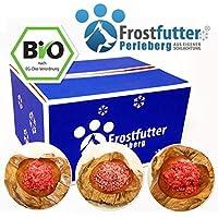 15kg bio–Paquete completo–barf & tiefgekühltes Frost Forro para perros se compone de Bio de hojas estómago, Bio de pecho Pierna de calcio de mezclar, Bio de vacuno ubre, orgánico verde pansen, Bio de vacuno Cuello Carne y mucho más