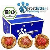 15 Kg Bio - Komplett Paket - Barf & tiefgekühltes Frostfutter für Hunde besteht aus BIO-Blättermagen, BIO-Brustbein-Calcium-Mix, BIO-Rindereuter, BIO-Grüner Pansen, BIO-Rinderhalsfleisch und vieles mehr