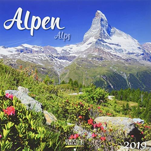Alpen (BK) 225019 2019: Broschürenkalender mit Ferienterminen