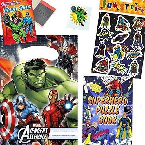 Avengers Buste Per Festa Kit per 8