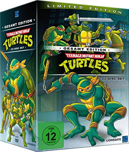 Teenage Mutant Ninja Turtles - Gesamtbox (22 DVDs)