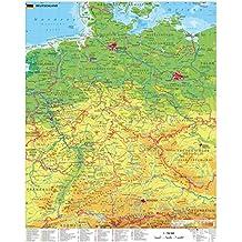 Suchergebnis Auf Amazon De Fur Deutschlandkarte Pinnwand