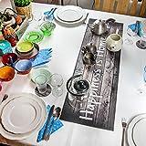 Trivetrunner: Dekorativer Tischläufer Hitzebeständig Bis zu 150°C, Rutschfest, Handwaschbar, und Praktisch für Heiße und Kalte Gegenstände, Schützt Oberflächen, RUSTIKAL Design