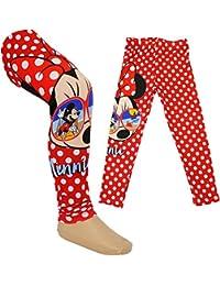 36d832e29b Unbekannt Leggings - Disney - Minnie Mouse - Größe 1 bis 6 Jahre - Gr. 92 -  128 __ Legging / lang - für Mädchen - Kinder…