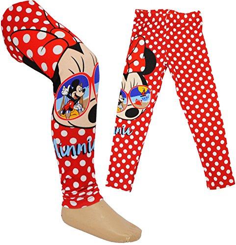 Leggings - ' Disney - Minnie Mouse ' - Größe 4 Jahre - Gr. 110 __ Legging / lang - für Mädchen - Kinder - Leggin Hose / Leggins /...