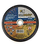 [1 Stuck] Gekröpft Metall Schleifscheiben Durchmesser, Siliciumcarbid Haken und Schlaufe disc