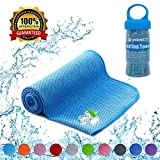 YQXCC Cooling Towel - Ice Feeling Double Side Soft Skin Friendly 120 x