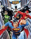GB Eye Photographie encadrée-40 x 50 cm-Rise/DC Comics Poster-Mini Multicolore