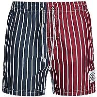 Pantalones de playa de los hombres de verano de gran tamaño flojo pantalones grandes pantalones personalidad juvenil hechizo de color pantalones de verano pantalones cortos para correr pantalones