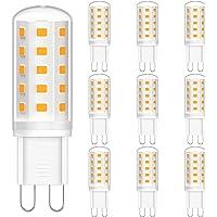 G9 LED Warmweiß, 3W LED Leuchtmittel G9 (ersetzt 30W), 3000K Warmweiss LED Lampen, 300LM, 360°Abstrahlwinkel, Kein…