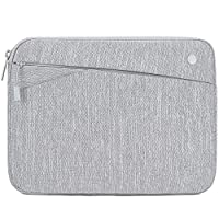 """Feacan 11 inch Tablet Sleeve for 2020 New iPad Pro 11-inch / 10.2 New iPad 2019/10.5 iPad Air / 10.5 iPad Pro / 9.7"""" New iPad/iPad Air 2 Case Bag, fit Apple Pencil Smart Keyboard Cable, Gray"""