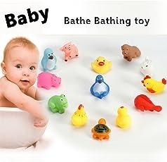 Scallop Schwimmende Spielzeug Badespielzeug Kinder Badewanne Schwimmbecken Gummi Float Squeeze Sound Spielen Spielzeug
