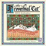The Proverbial Cat 2014 Wall (calendar) by Sydney Hauser (2013-07-25)