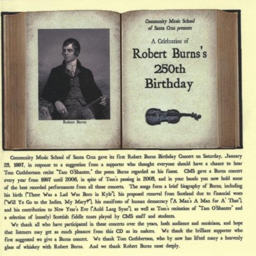A Celebration Of Robert Burns S 250th Birthday By