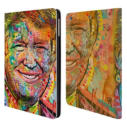 Ufficiale Dean Russo Trump Leader Famosi Cover a portafoglio in pelle per Apple iPad Air