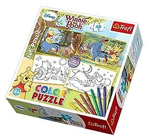 Trefl 2-Colour Puzzles Winnie The Pooh Disney