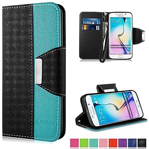 Coque Samsung Galaxy S6 Edge Noir - Coque Samsung Galaxy S6 Edge, Vakoo Galaxy