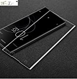 [Pack of 1] Sony Xperia XA1 Plus 5D Tempered, Full Tempered Glass for Sony Xperia XA1 Plus - Transparent