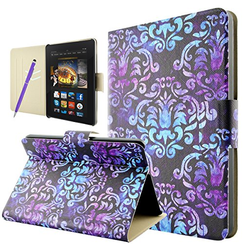 amazon-kindle-fire-hdx-7-case-fraelcr-slim-fit-leather-wallet-stand-flip-case-cover-with-auto-sleep-