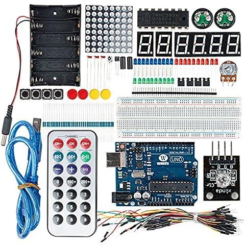 sourcingmap® UNO R3 projet Conseil Kit démarrage pour le développement apprentissage Conseil DIY Arduino