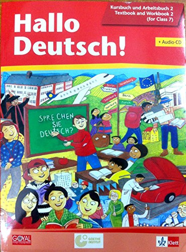 Hallo Deutsch! with CD for Class 7