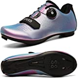 Cycling Shoes Spin Shoestring with Compatible Cleat Peloton Shoe with SPD and Delta Lock Pedal Bike Shoes