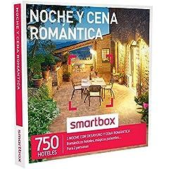 Idea Regalo - smartbox–Cofanetto Regalo–Notte e Cena–750Amore Romantico Hotel, magici palacetes, casonas en Plena Natura