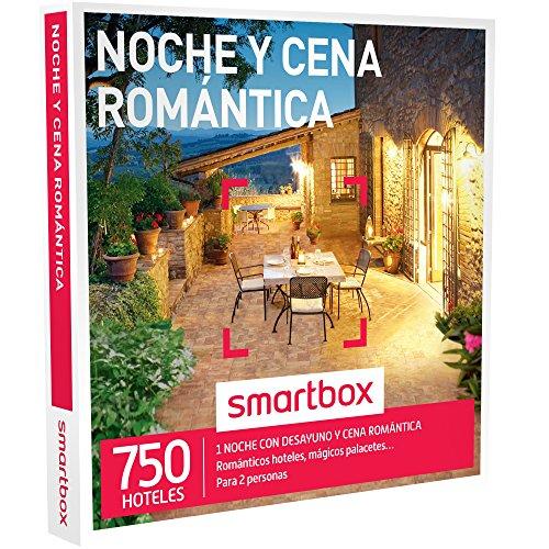 SMARTBOX - Caja Regalo - NOCHE Y CENA ROMÁNTICA - 750 románticos hoteles, mágicos palacetes, casonas en plena naturaleza