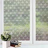 Bfeplfashion Decorative Privacy Frosted Window Glass Film Sticker Home Bathroom Waterproof - 5#