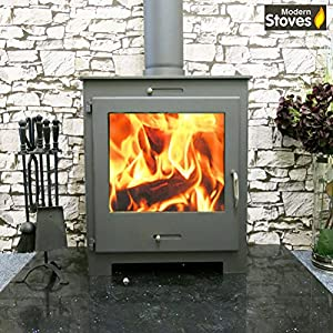 Nero Lux Contemporary Wood Burning Stove 18kw
