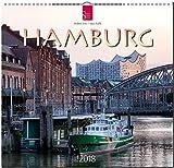 HAMBURG: Original Stürtz-Kalender 2018 - Mittelformat-Kalender 33 x 41 cm