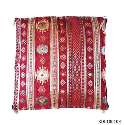 Türkische Marokkanische bunte Kelim Design 43,2cm/43cm–kdl100103