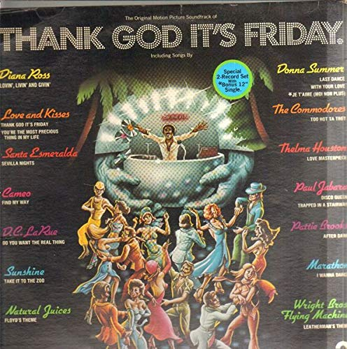 Thank God Its Friday OST [3xVinyl] [3x Vinyl LP] (Commodores Vinyl)