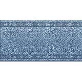 Floori Küchenläufer | strapazierfähiger Teppich Läufer für Küche, Flur uvm. | Flurläufer in vielen Größen wählbar | 66x260 cm | steel