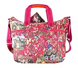 Oilily Cottage Shoulder Baby Bag Fuchsia