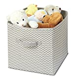 mDesign Chevron Soft Storage Organizer