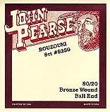 John Pearse 5250S Jeu de cordes de Bouzouki Naturel