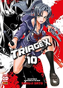 Triage X 10 (Manga) di [Shouji Sato]