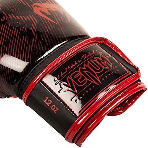 Venum Boxhandschuhe Fusion, Rot/Schwarz, 12 oz, 02550-207 -