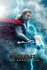 Thor 2 The Dark World Poster Teaser - Poster Großformat (61cm x 91,5cm)