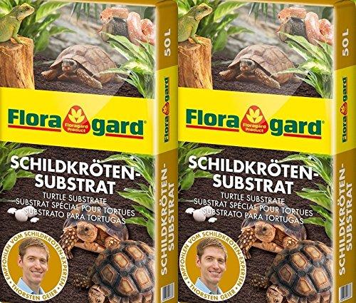 Floragard Schildkrötensubstrat 100 Ltr. (2 x 50 Ltr.)