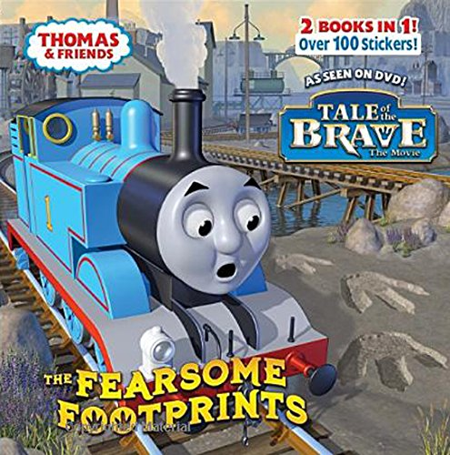 The Fearsome Footprints/Thomas the Brave [With Sticker(s)] (Thomas & Friends)